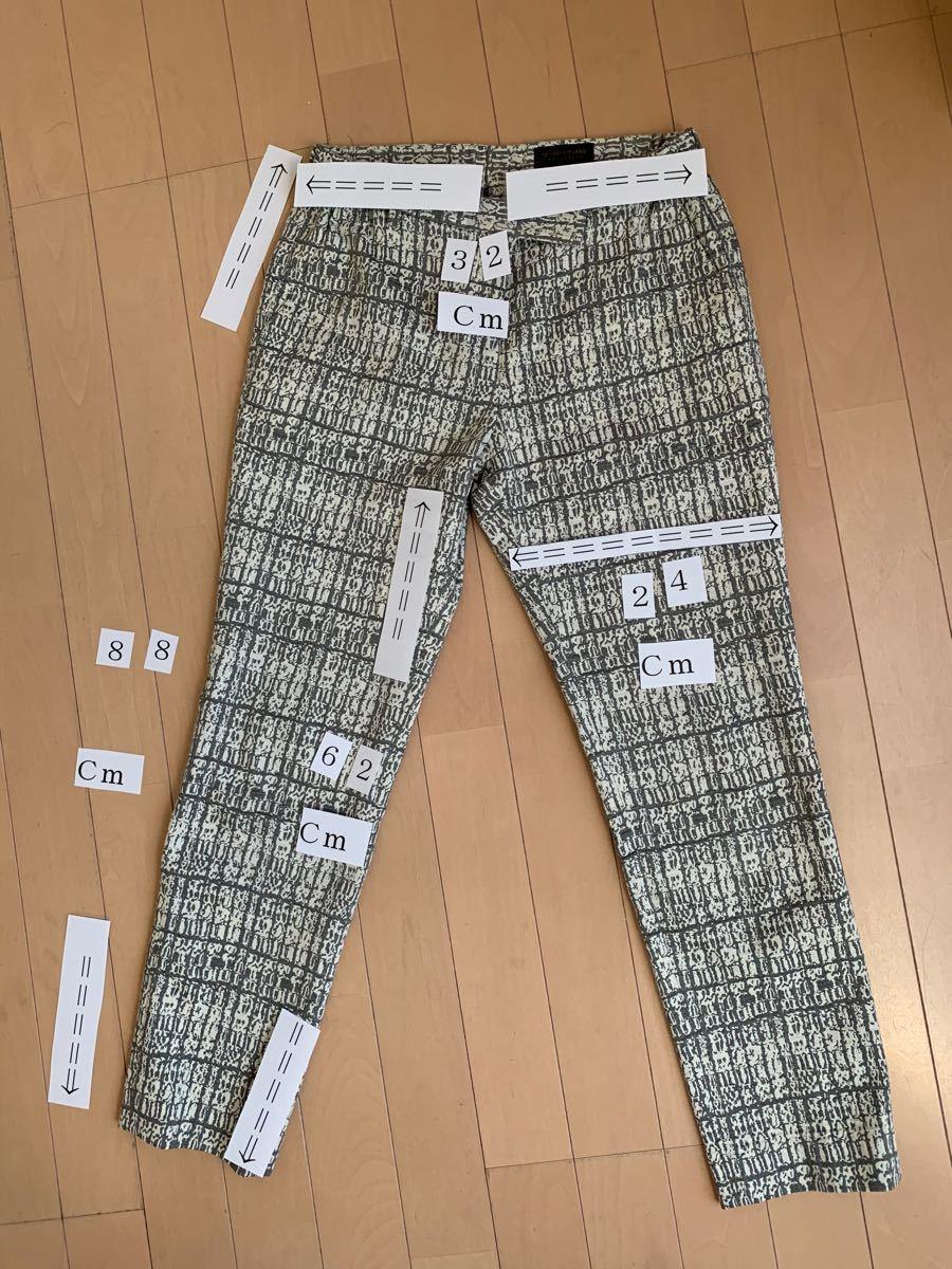 チェックパンツ 9分丈パンツ レディースパンツ トゥモローランドコレクション