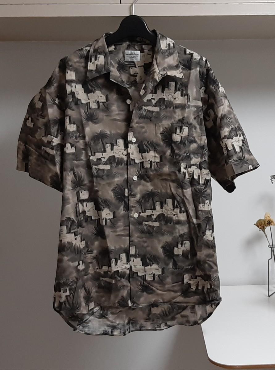 アロハシャツ 半袖シャツ 柄シャツ 総柄 セレクト古着