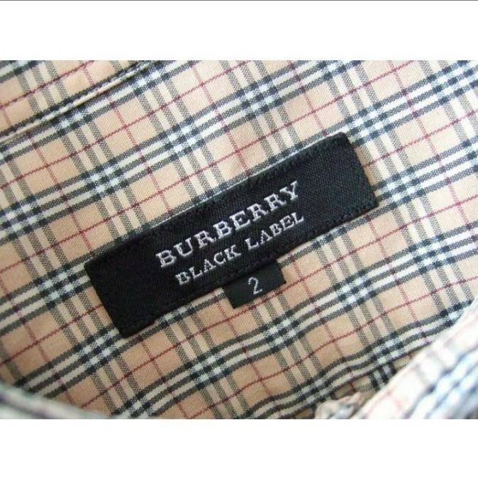 BURBERRY バーバリー ブラックレーベル ノバチェックシャツ 三陽商会