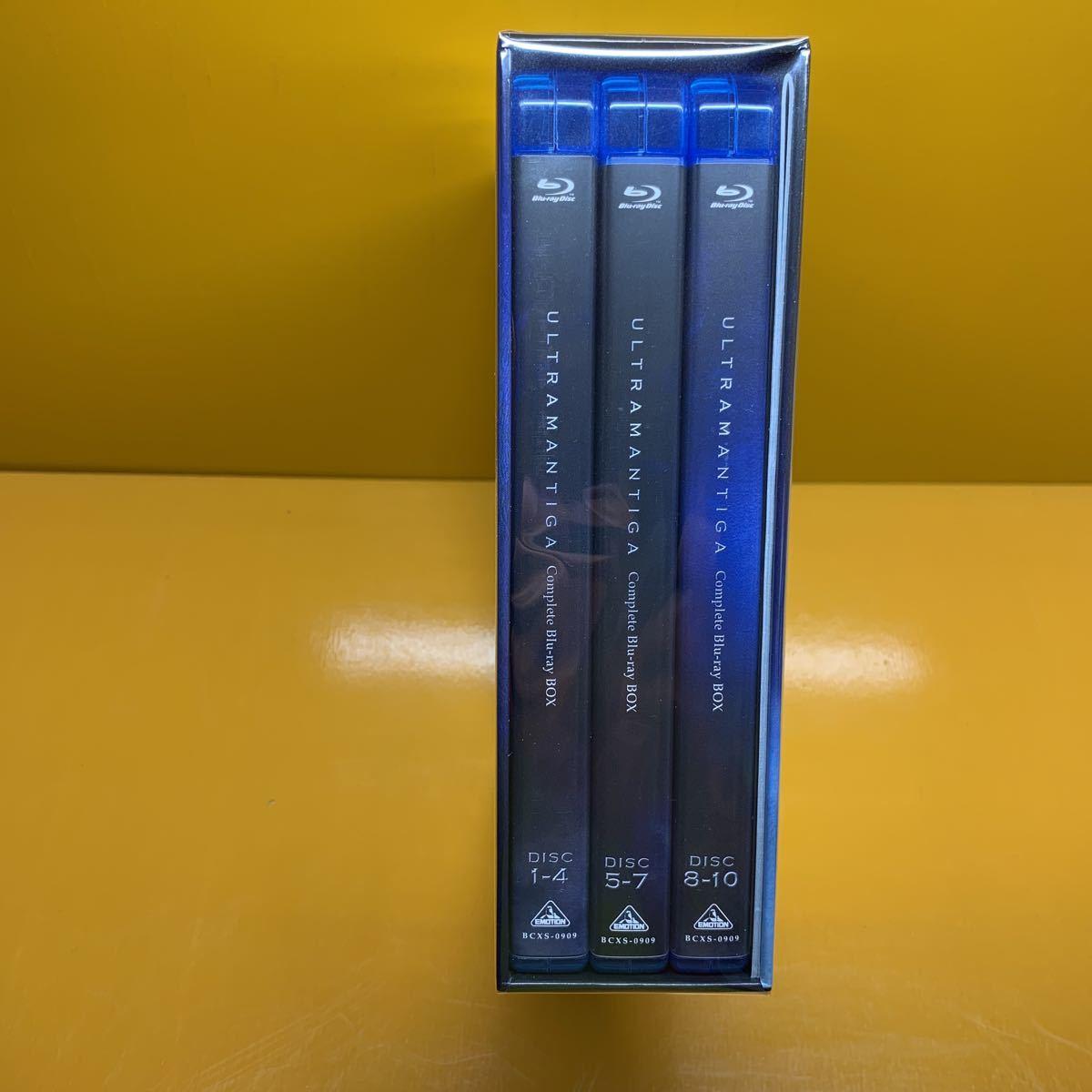 ウルトラマンティガ complete blu-ray box ブルーレイ