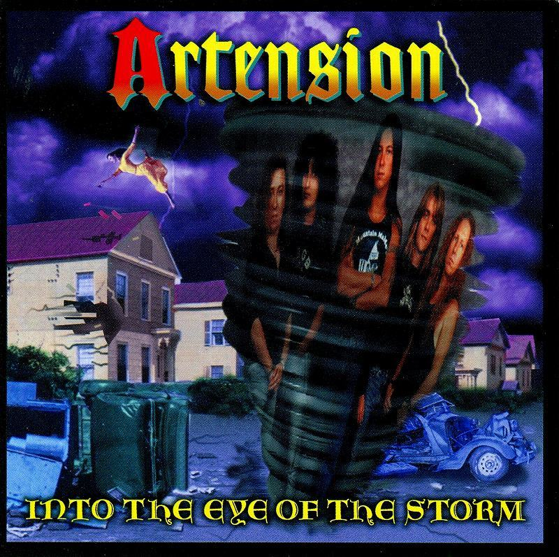 ◆◆ARTENSION◆INTO THE EYE OF THE STORM アーテンション イントゥ・ジ・アイ・オブ・ザ・ストーム 国内盤 即決 送料込◆◆