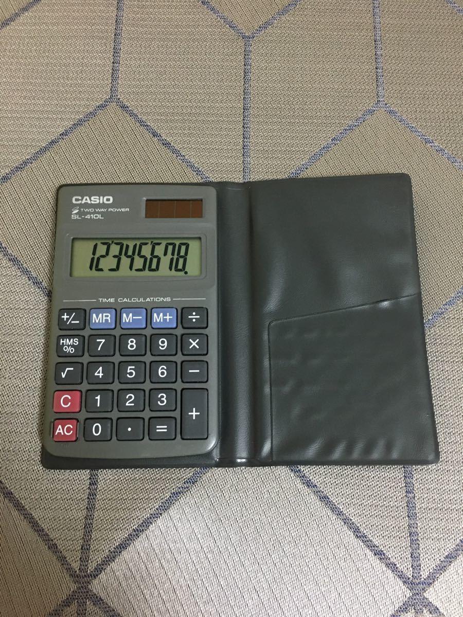 【美品】CASIO コンパクト 電卓 カシオ