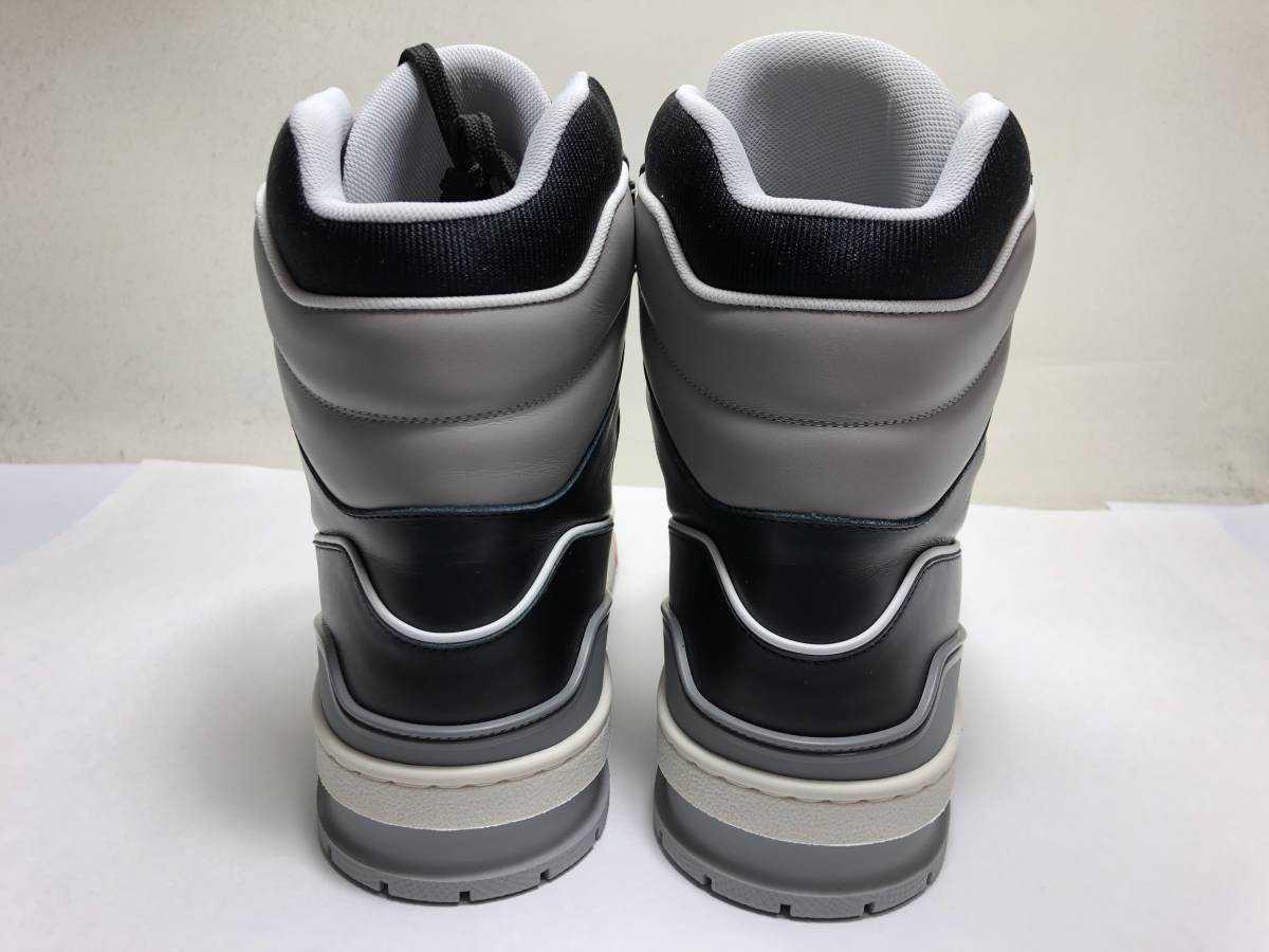 新品 LOUIS VUITTON ルイヴィトン 19ss VIRGIL ABLOH ヴァージルアブロー LVトレイナー ライン スニーカー 8 27cm 1A54IS 靴_画像5