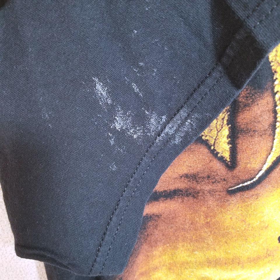 バンドTシャツ ツアーTシャツ 黒 ギルダン M ビッグプリント GILDAN
