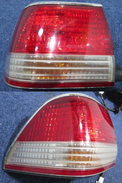 トヨタ純正 15 クラウン ロイヤルツーリング JZS155 後期 テールランプ ICHIKOH 30-250 30-249 セット_画像3
