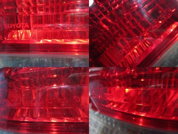 トヨタ純正 15 クラウン ロイヤルツーリング JZS155 後期 テールランプ ICHIKOH 30-250 30-249 セット_画像7