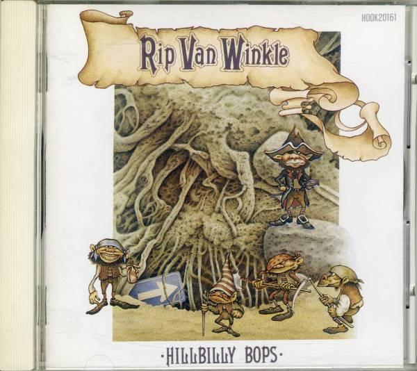 廃盤 CD ★ [国内盤] ★HILLBILLY BOPS ヒルビリー・バップス / Rip Van Winkle ★ ネオ ロカビリー クリームソーダ_画像1