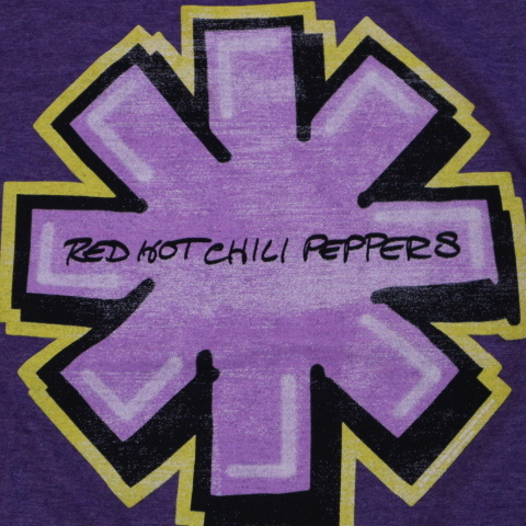 RED HOT CHILI PEPPERS Tシャツ The GETAWAY 2016 ツアー S パープル ロゴ 両面 レッドホットチリペッパーズ レッチリ RHCP バンド ロック_画像4
