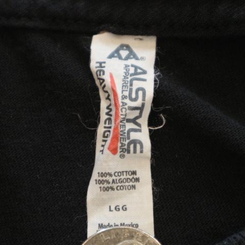 00s RED HOT CHILI PEPPERS Tシャツ L ブラック 半袖 ロゴ レッドホットチリペッパーズ レッチリ RHCP オフィシャル バンド ロック_画像5