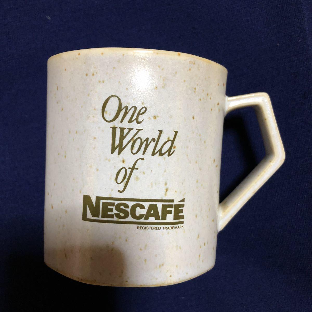 *昭和レトロ*激レア非売品 ネスカフェ NESCAFE マグカップ 2個セット ノベルティ 当時物_画像5