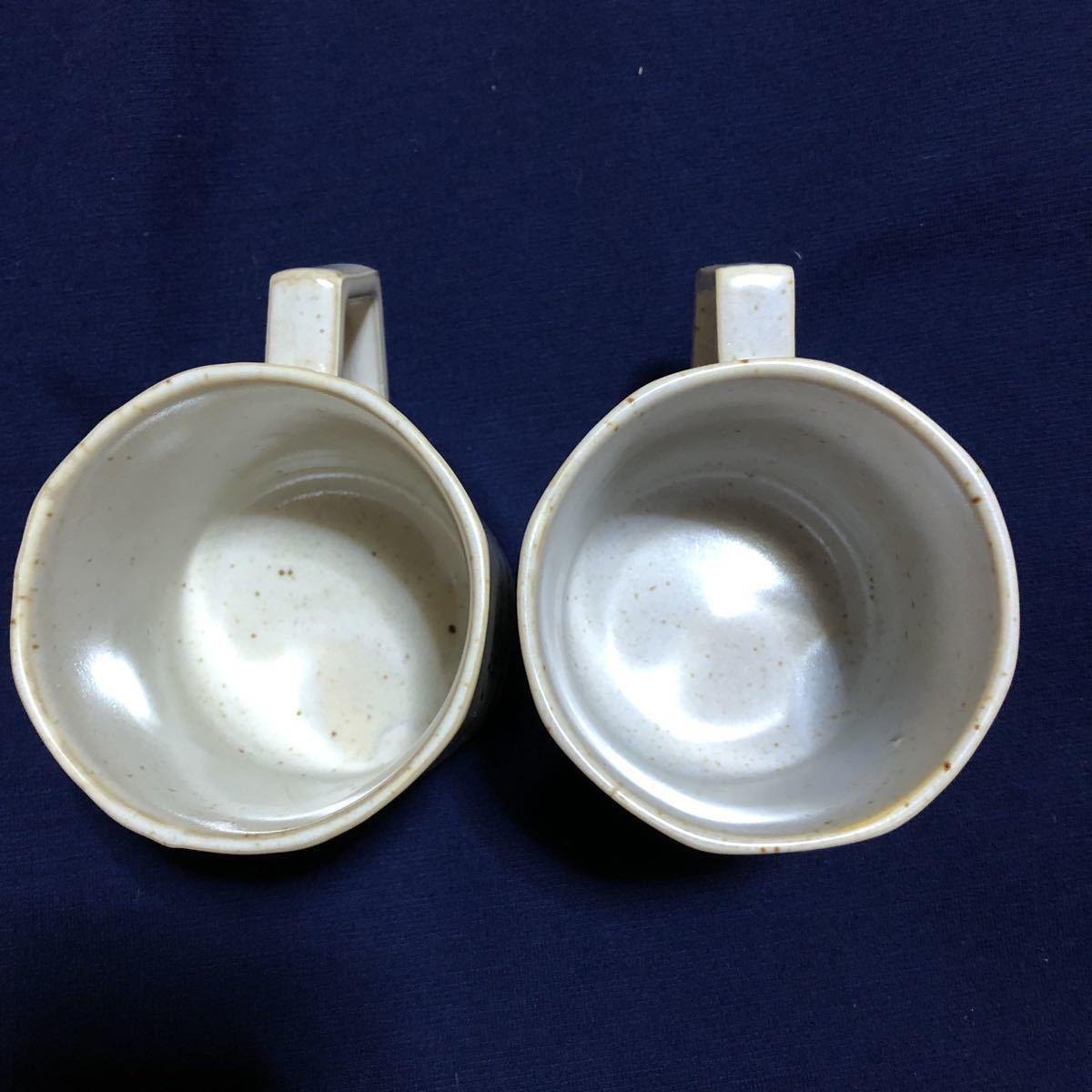 *昭和レトロ*激レア非売品 ネスカフェ NESCAFE マグカップ 2個セット ノベルティ 当時物_画像3