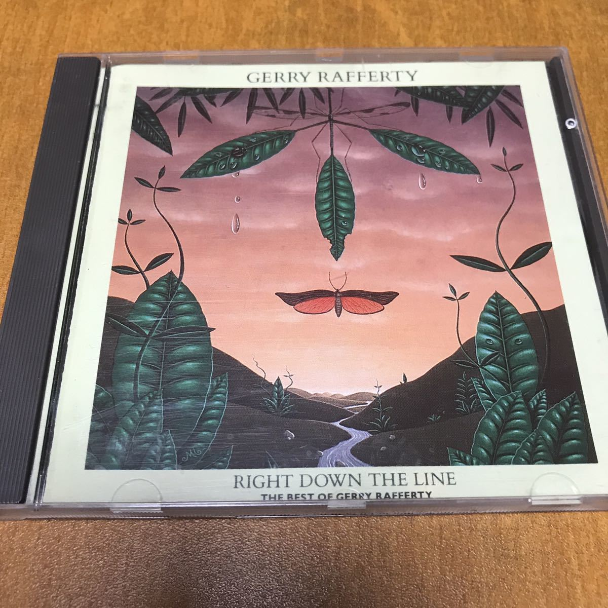 GERRY RAFFERTY / RIGHT DOWN THE LINE THE BEST OF~ 輸入盤CD ジェリー・ラファティ_画像1