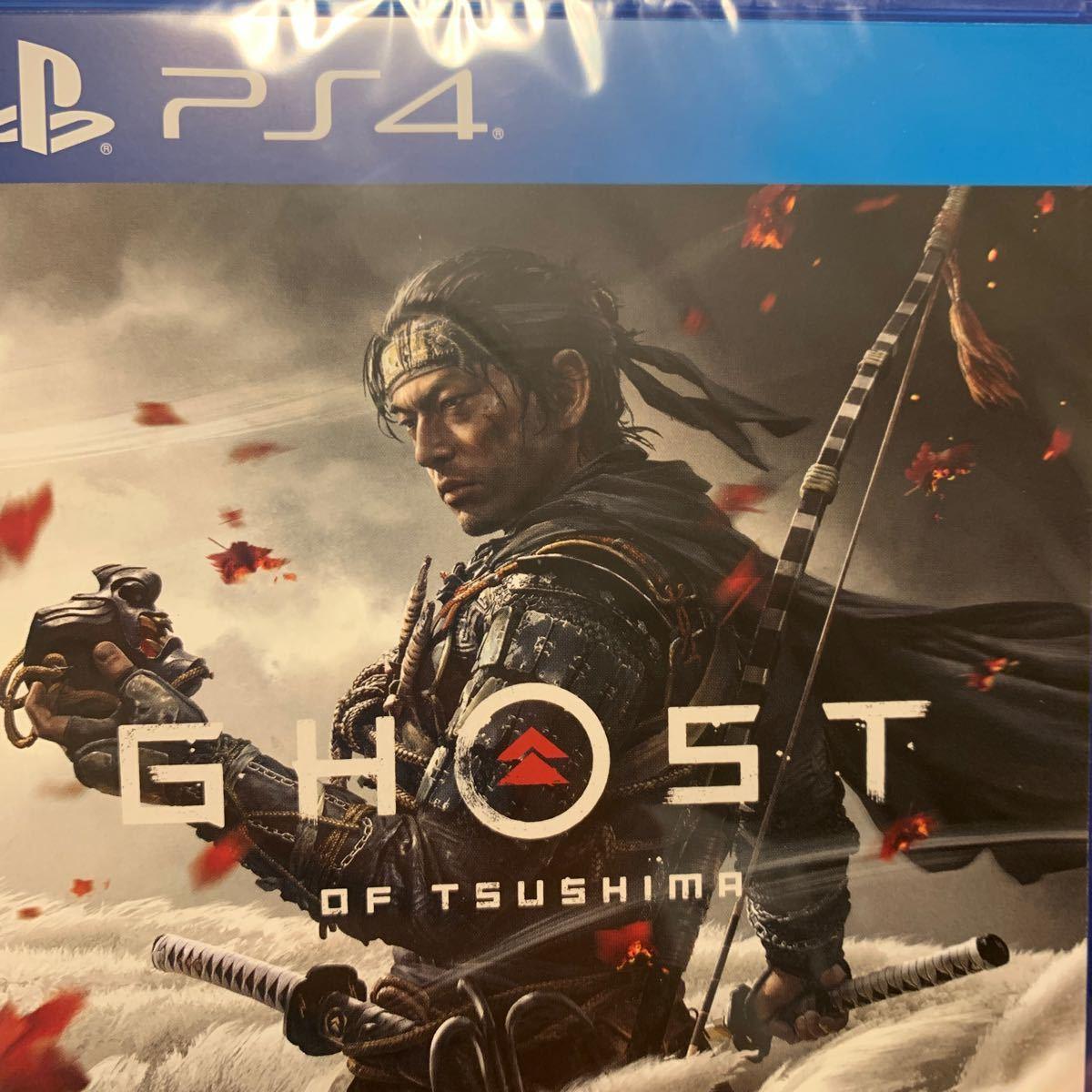 新品未開封【PS4】 Ghost of Tsusima