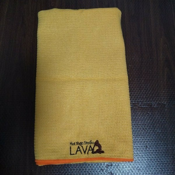 LAVAヨガラグ ヨガマット黄色オレンジ
