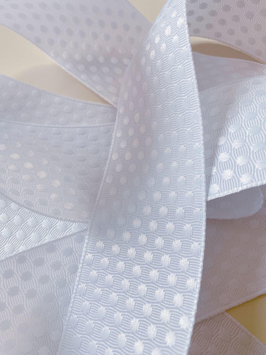 ◆送料込み◆新品◆ドット模様風 グログランリボン 5.2メートルの切り売り 手づくり ハンドメイド 手芸 リメイク リボン りぼん_画像1