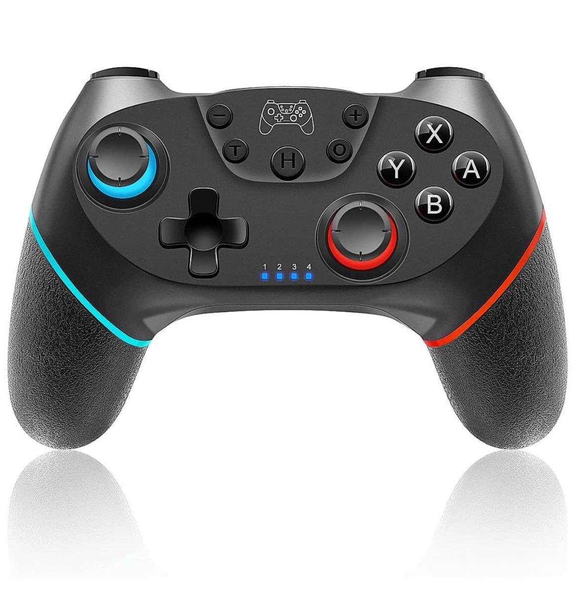 Switchコントローラー ワイヤレス任天堂switch対応 プロコントローラー