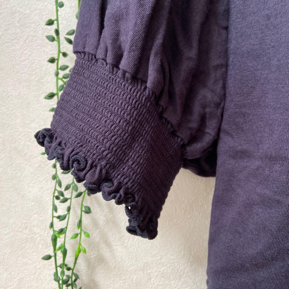 chocol raffine robe  袖絞りカットソー