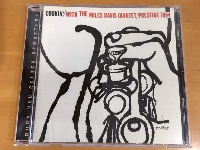 CD マイルス・デイヴィス『COOKIN' With The Miles Davis Quintet/PRESTIGE 7094』[Jazz Trumpet/ ジャズ トランペット]_画像1