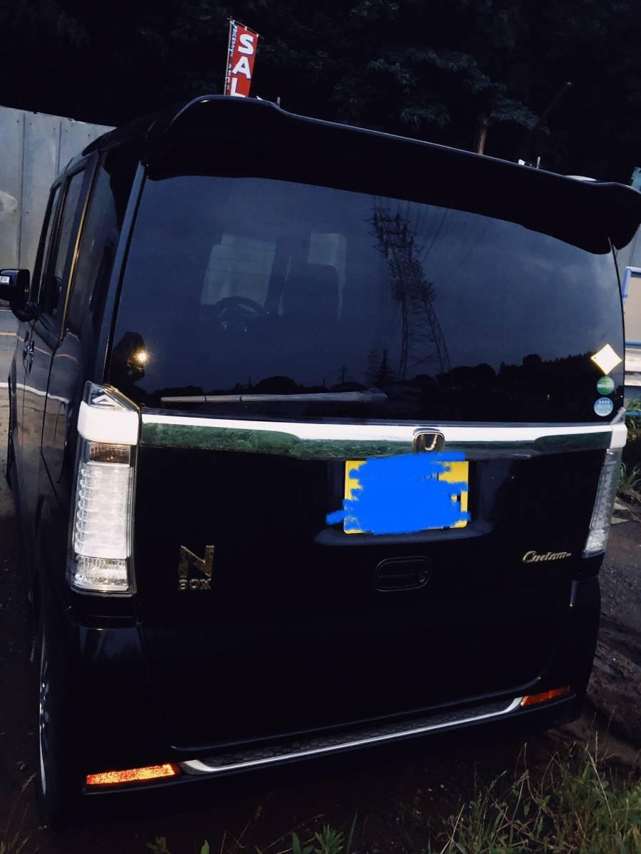 「【HONDA】【N BOX custom】24,000㎞ 掘り出し中古車!!!」の画像2