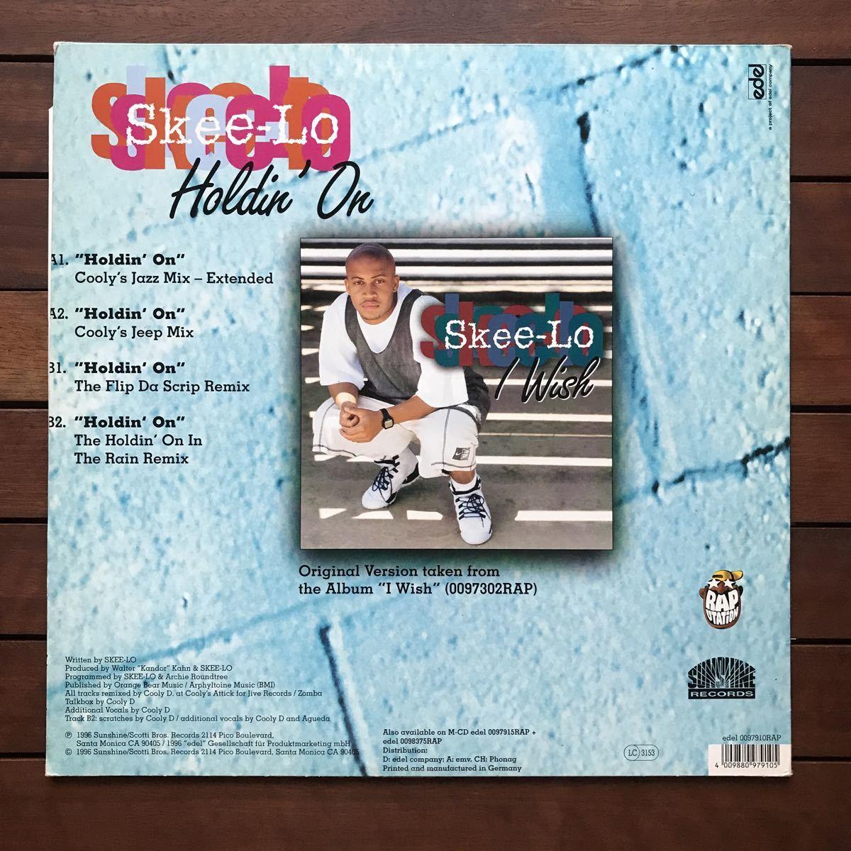 ●【eu-rap】Skee-Lo / Holdin' On[12inch]オリジナル盤《1-1》
