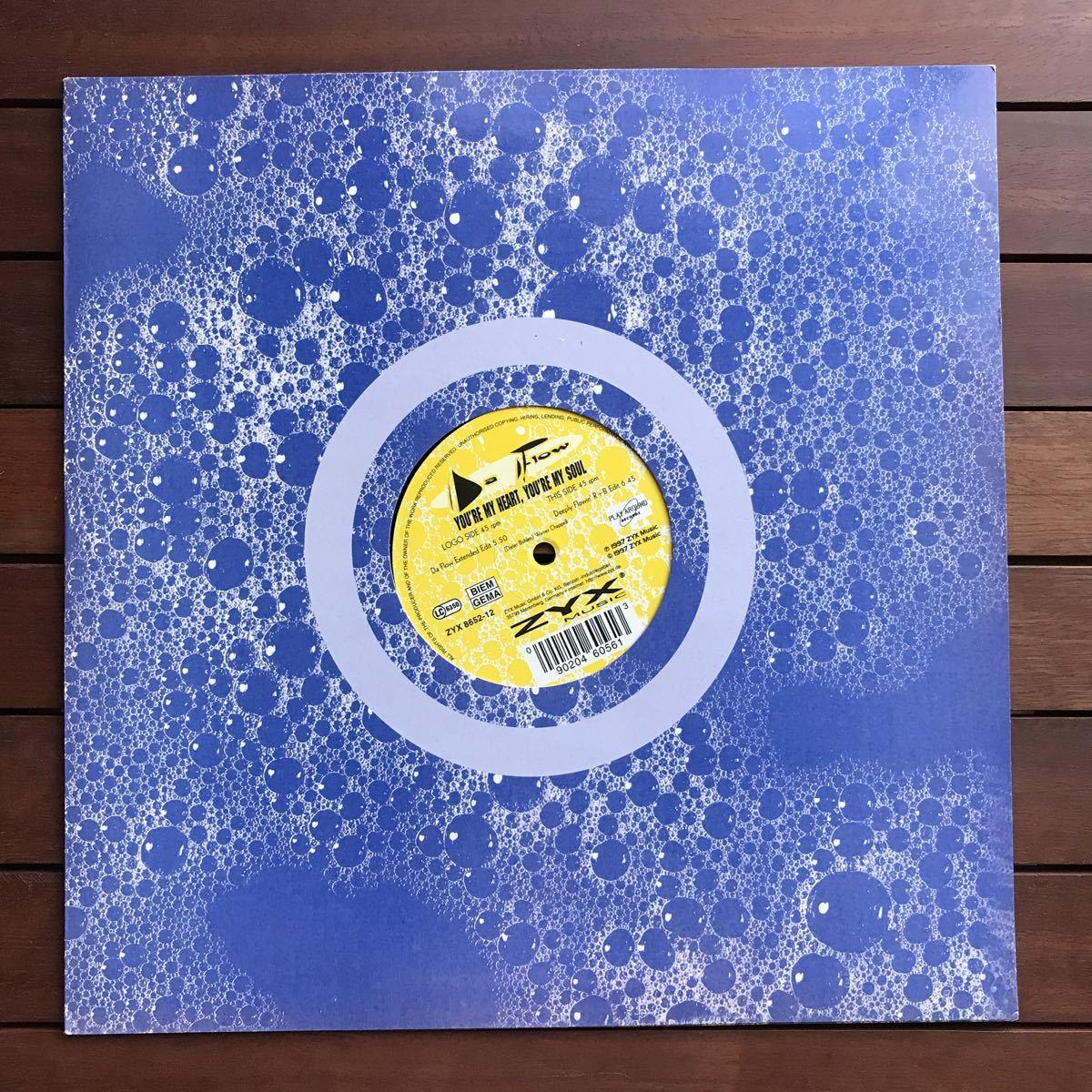 【eu-rap】Da Flow / You're My Heart, You're My Soul[12inch]オリジナル盤《1-4》