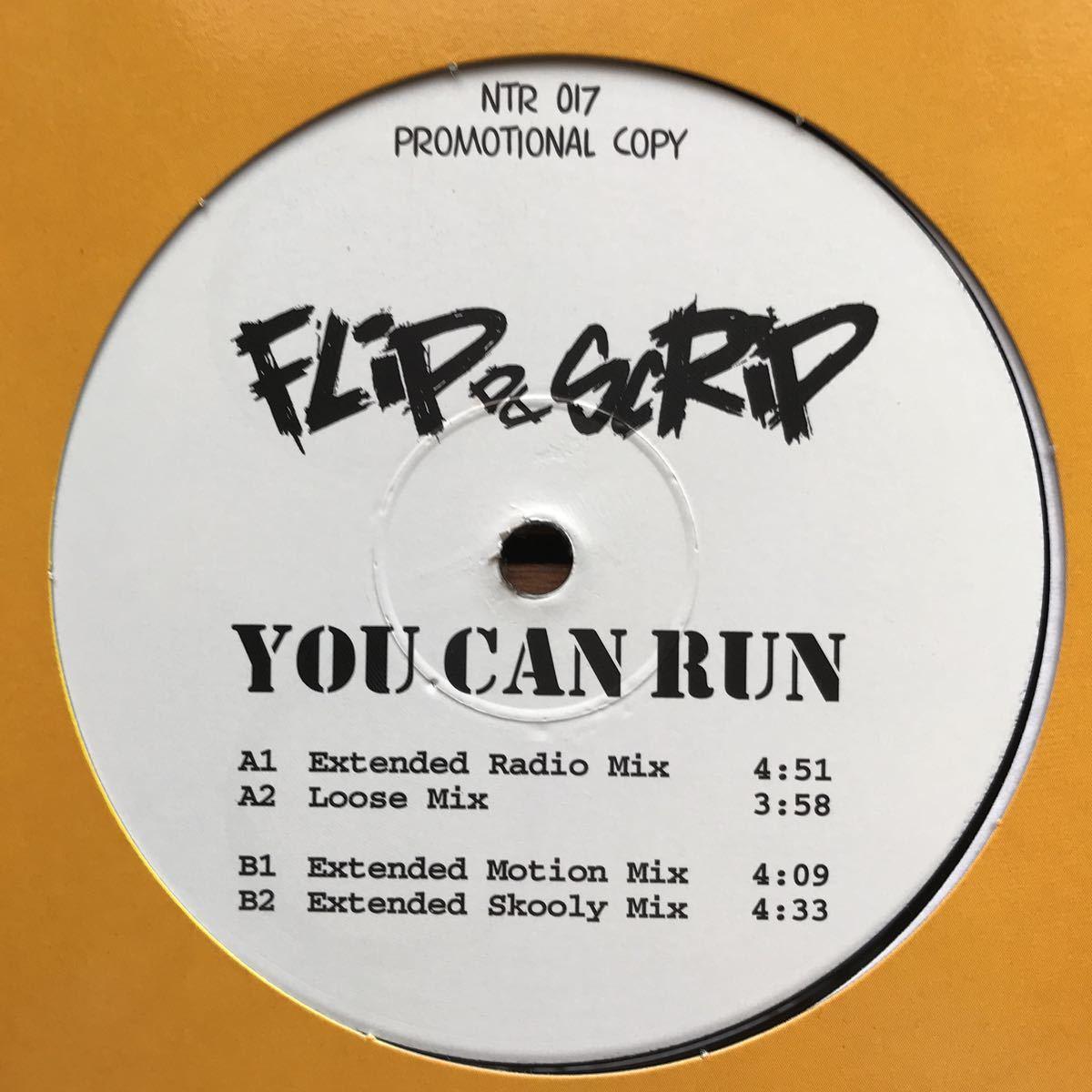 【eu-rap】Flip Da Scrip / You Can Run[12inch]オリジナル盤《1-4》nightown レーベル