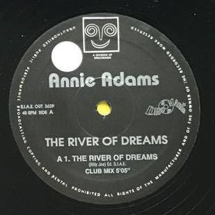 【r&b】Annie Adams / The River Of Dreams[12inch]オリジナル盤《1-2 9595》