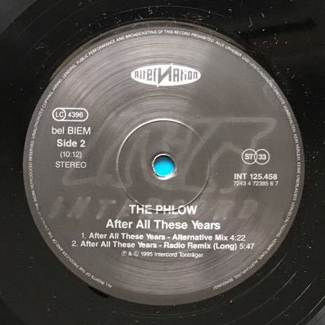【eu-rap】The Phlow / After All These Years[12inch]オリジナル盤《1-1》