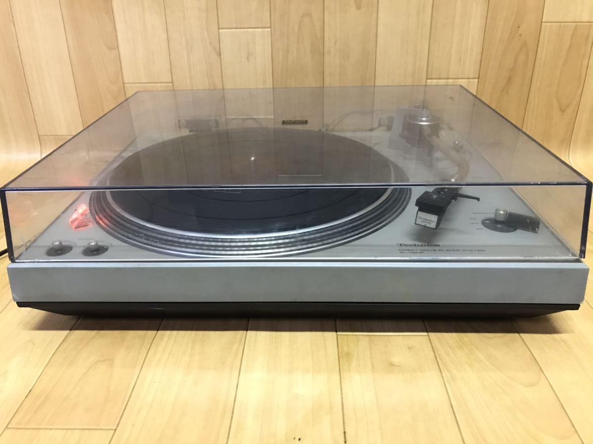長野発!希少、当時物!Technics SL-1500 ターンテーブル レコードプレーヤー 現状ジャンク品_画像2