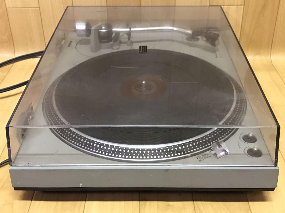 長野発!希少、当時物!Technics SL-1500 ターンテーブル レコードプレーヤー 現状ジャンク品_画像4
