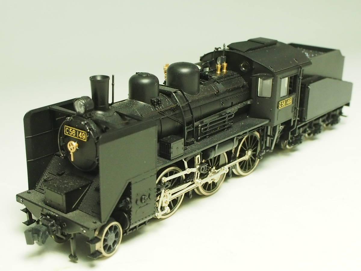 HOゲージ KATO 関水金属 カトー 客貨両用機 蒸気機関車 C56 品番:1-201 パーツ取付品