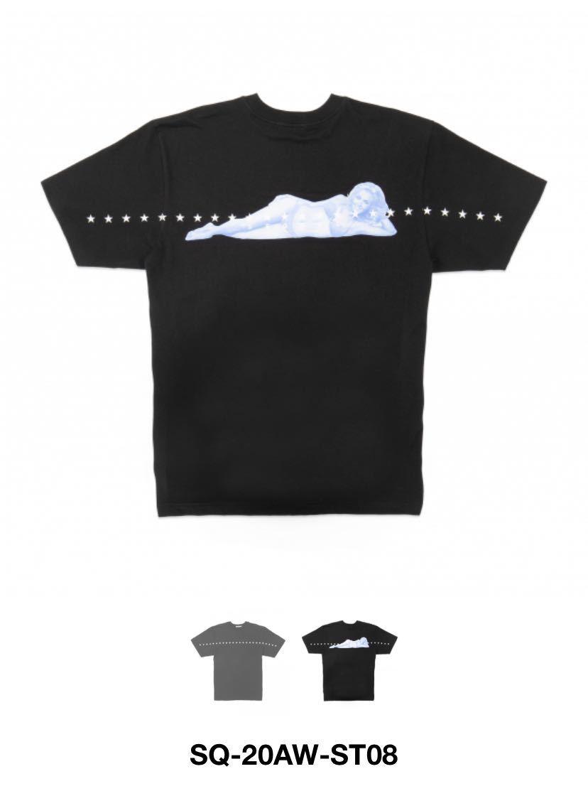 新品 XLサイズ SEQUEL SQ-20AW-ST08 Tシャツ シークエル FRAGMENT デニム フラグメント ダブルタップス ネイバーフッド_画像3