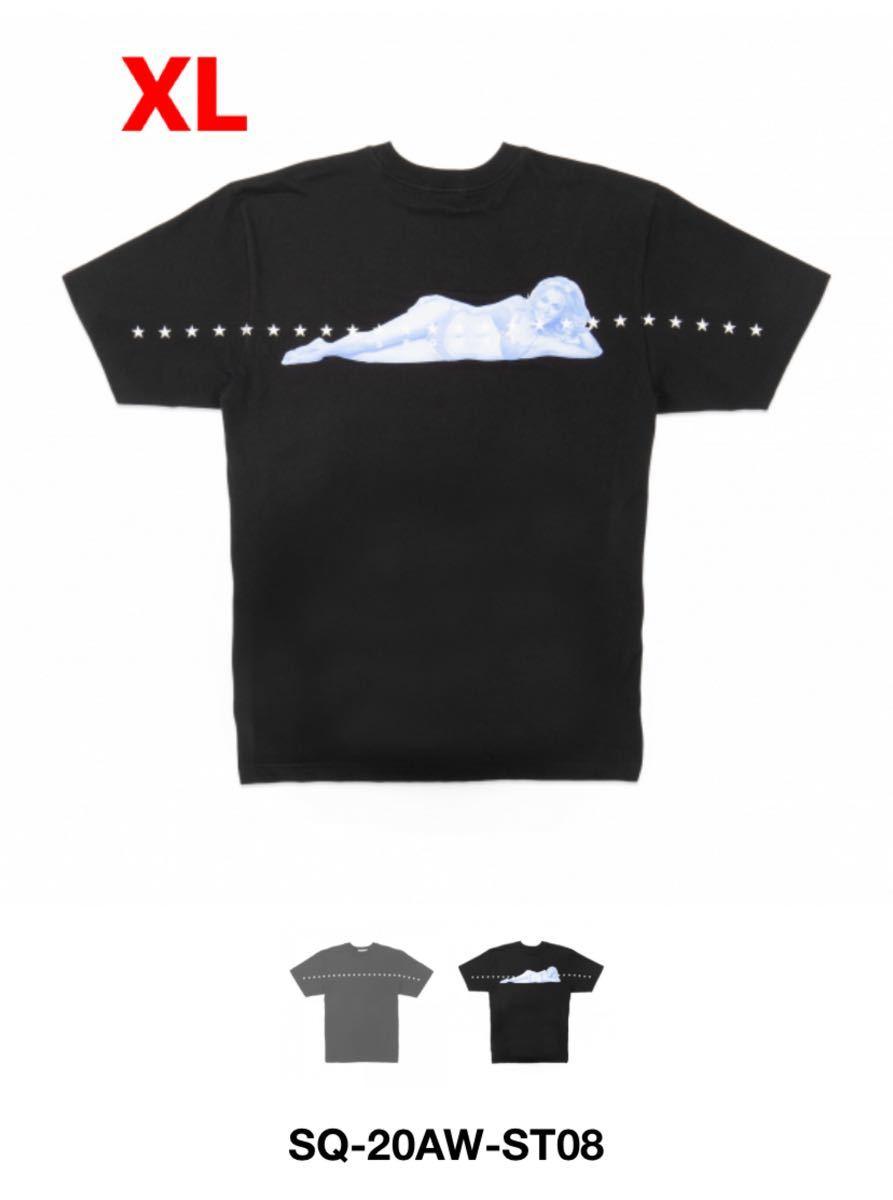 新品 XLサイズ SEQUEL SQ-20AW-ST08 Tシャツ シークエル FRAGMENT デニム フラグメント ダブルタップス ネイバーフッド_画像1