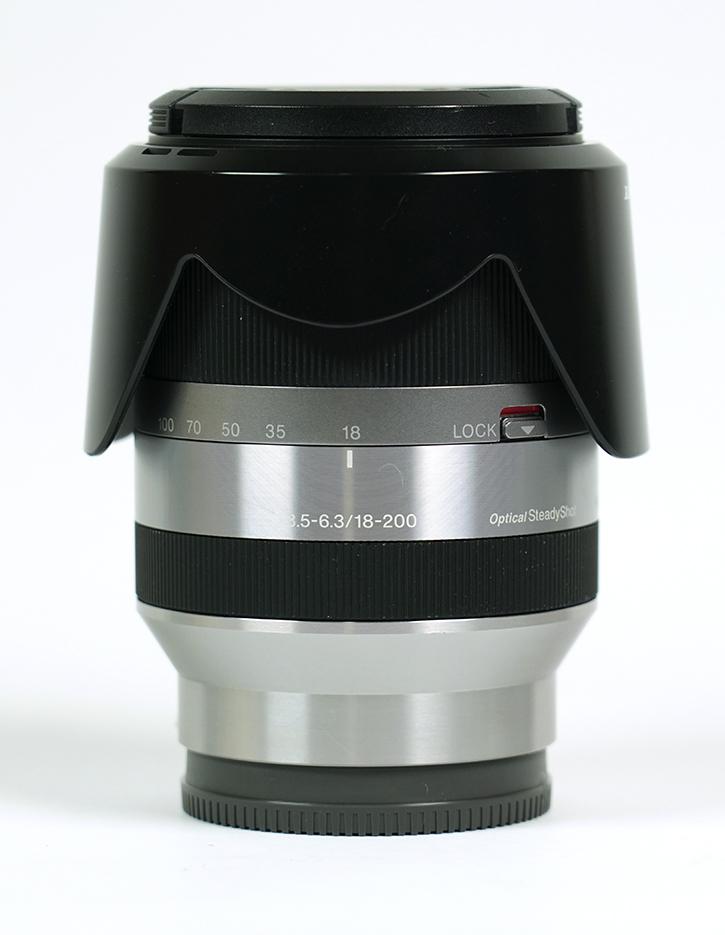 SONY SEL18200 E18-200mm F3.5-6.3 OSS [Eマウント]用高倍率ズームレンズ