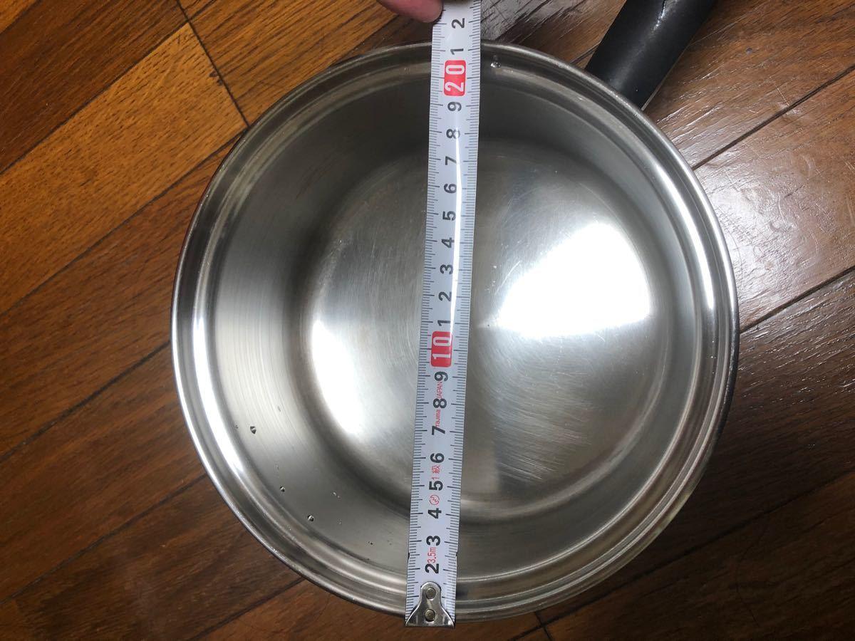 アムウェイ クッククィーン 中ソースパン 約20cm 片手鍋 IH対応 クイーン