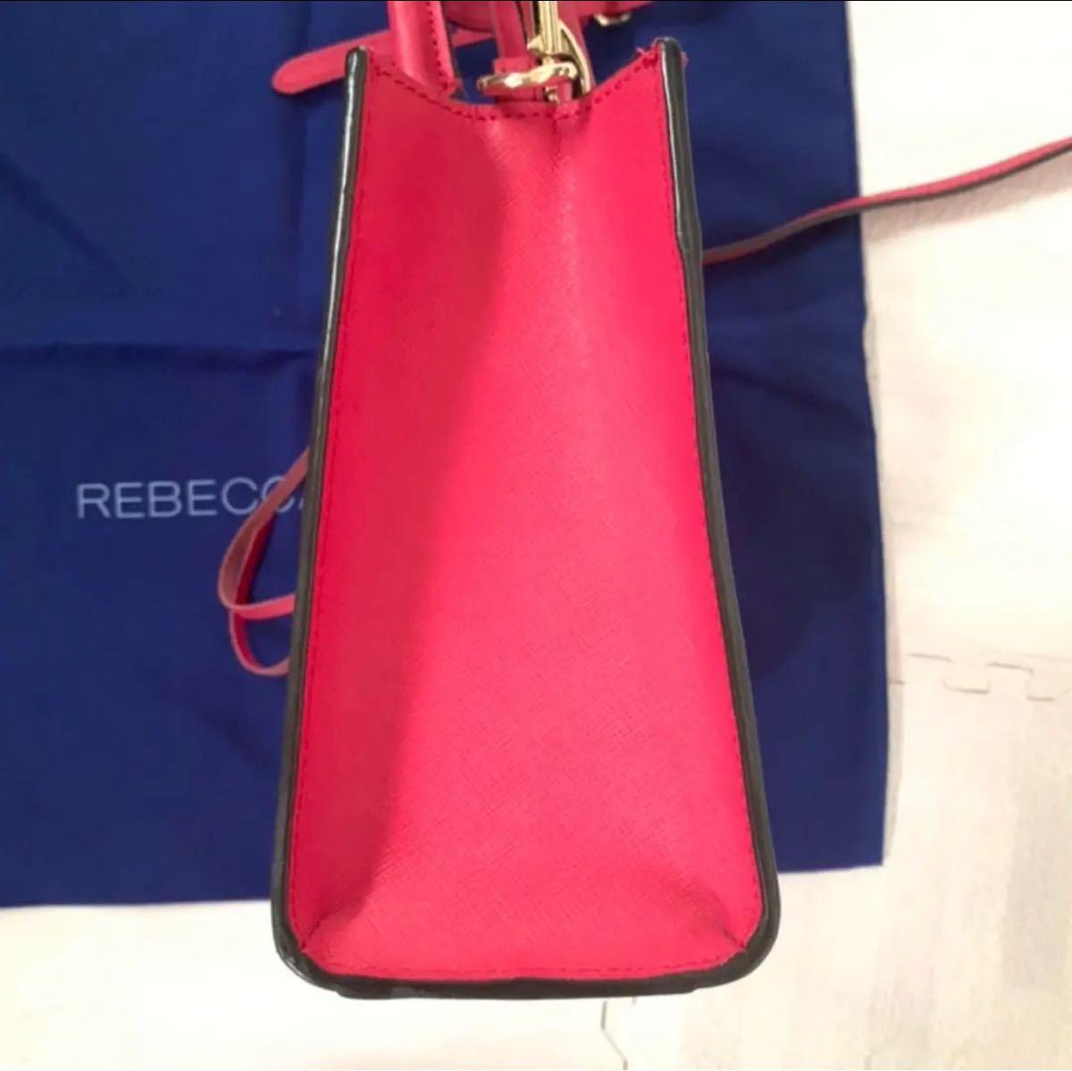 ミニショルダーバッグ レベッカミンコフ 美品 斜めがけショルダーバッグ