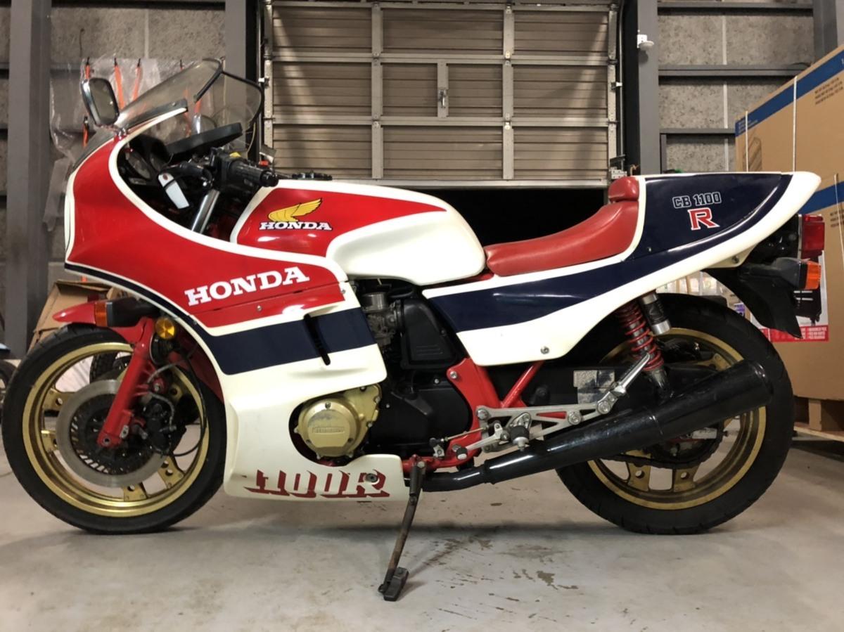 「超希少 ホンダ CB1100R RC 1982年 手組 生産 120ps 世界限定5000台! 当時新車価格250万円! 実働 バイク 旧車 札幌発」の画像2
