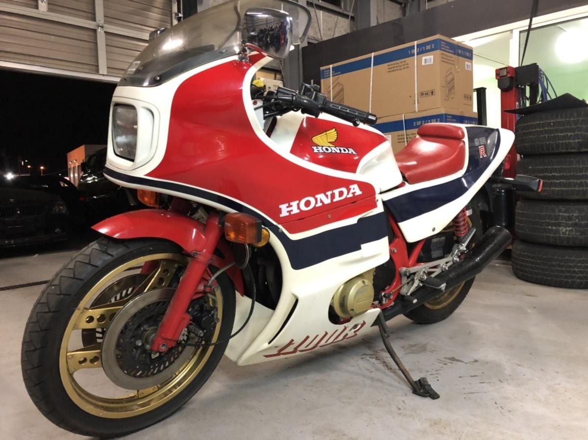 「超希少 ホンダ CB1100R RC 1982年 手組 生産 120ps 世界限定5000台! 当時新車価格250万円! 実働 バイク 旧車 札幌発」の画像3