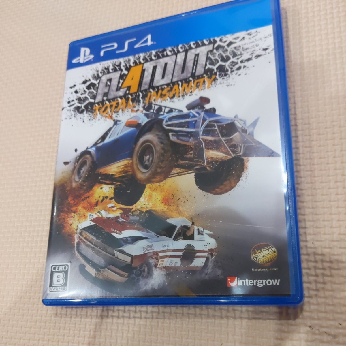 【PS4】 FlatOut 4: Total Insanity PS4