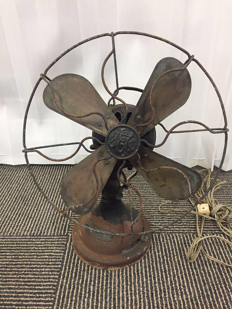 SHIBAURA 芝浦 古い扇風機 Alternating Current Fan Motor 昭和レトロ アンティーク