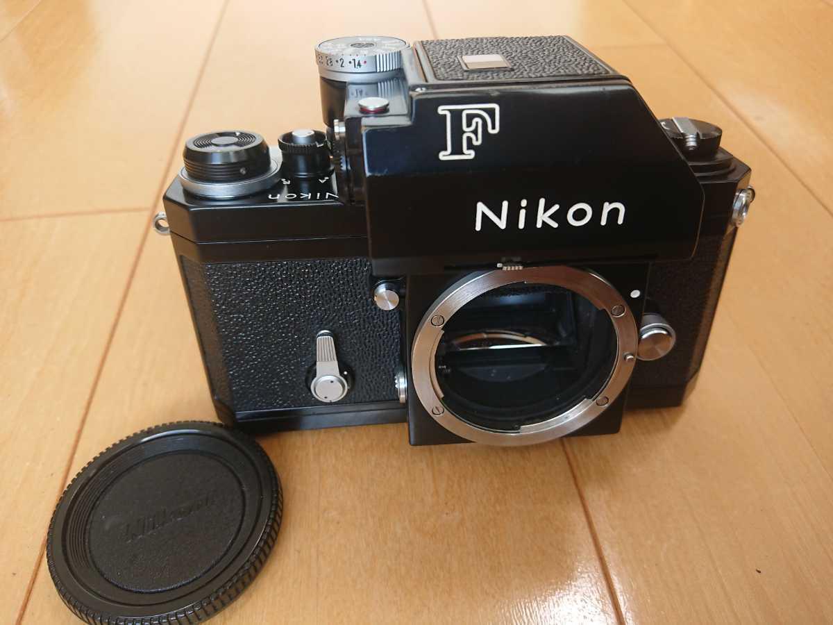 美品 ニコンF フォトミック ブラックボディー Nikon F