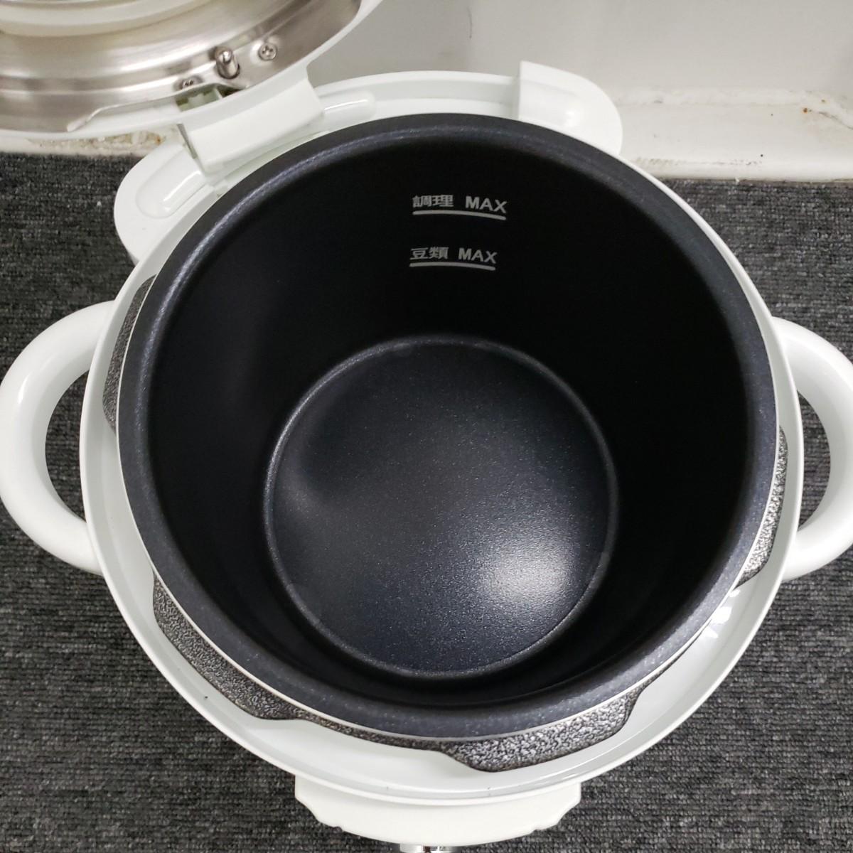 小泉 電気圧力鍋(LPC-T12/W)2018年製