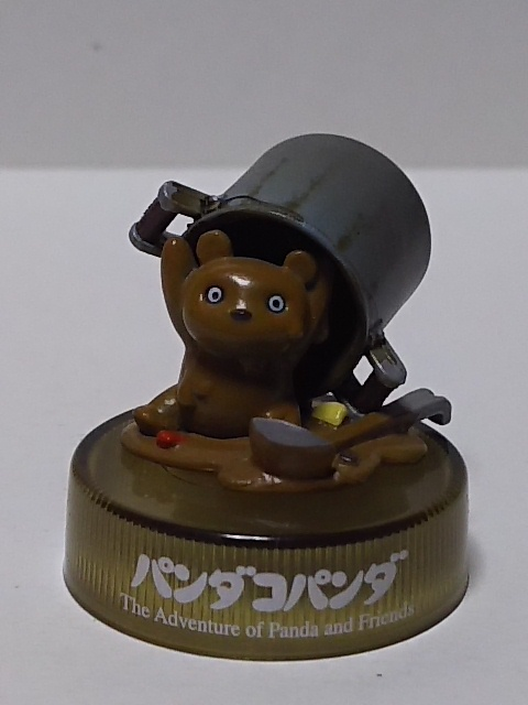 8★200)パンダコパンダ、ボトルキャップ★カレーパンちゃん(シークレット)_画像1