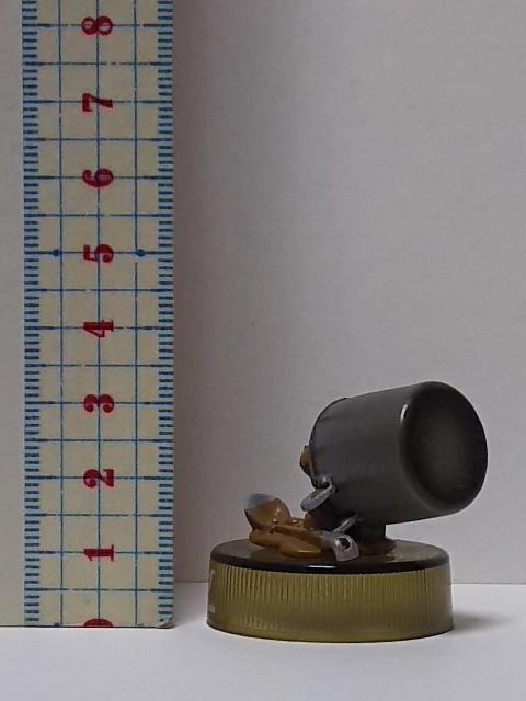 8★200)パンダコパンダ、ボトルキャップ★カレーパンちゃん(シークレット)_画像2