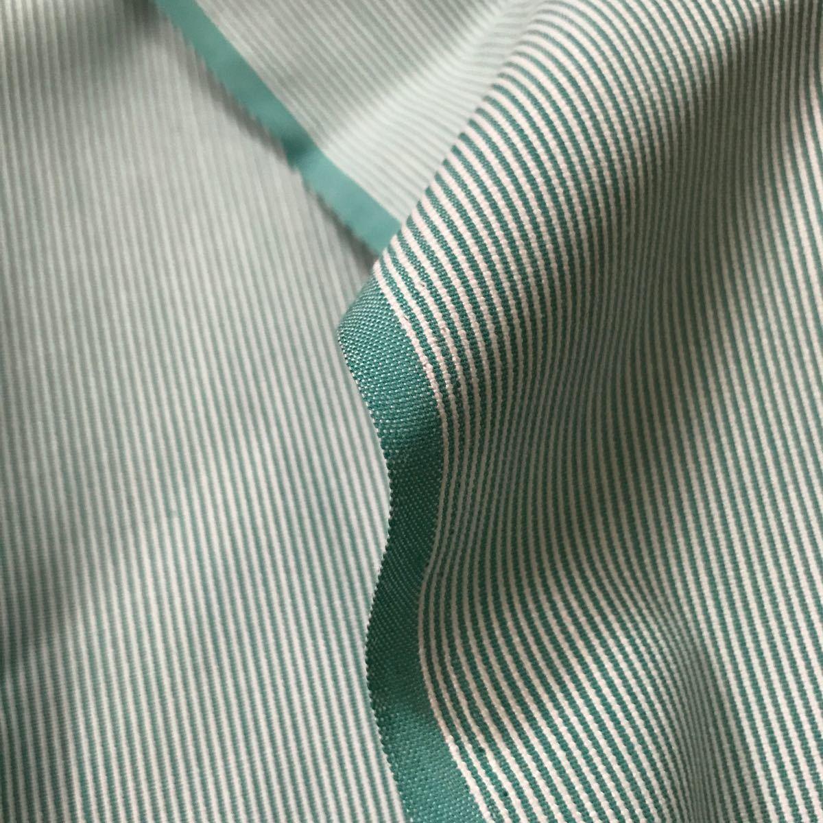 生地 コードレーン 緑系 綿