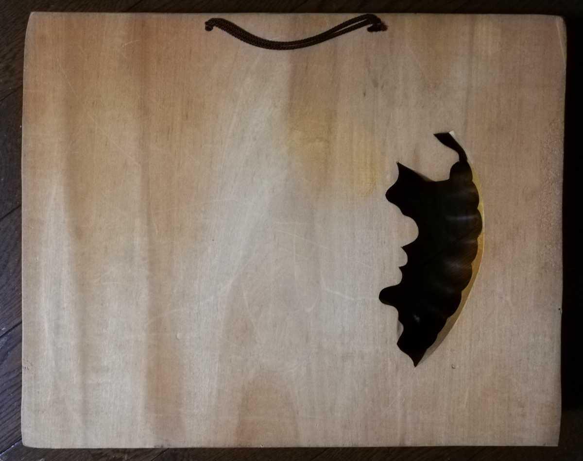 アイヌ 木彫り 壁掛け 木工 彫刻 レリーフ 工芸品 北海道民芸品_画像3