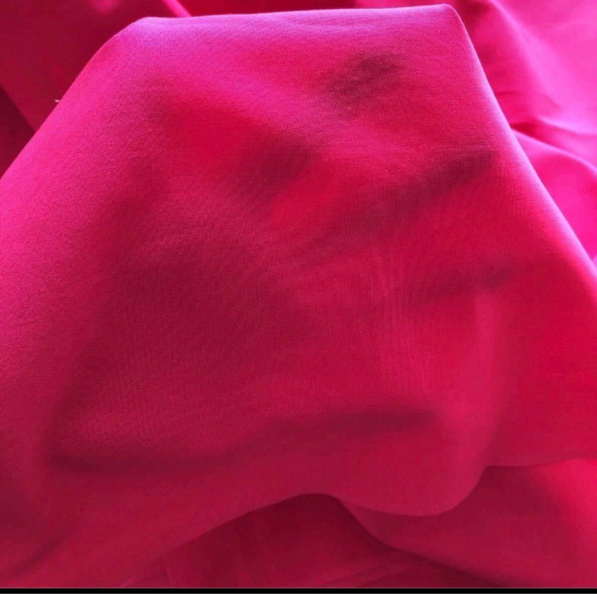 ハンドメイド 生地 はぎれ ハギレ 綿 ピンク