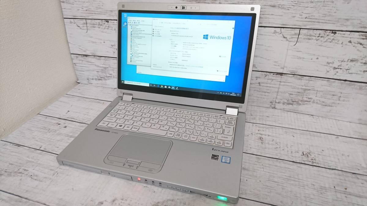 Panasonic Let's note CF-MX5 12.5型 Core i5-6300U 2.4GHz 4GB SSD128GB win10 カメラ タッチパネル 無線LAN 動作品