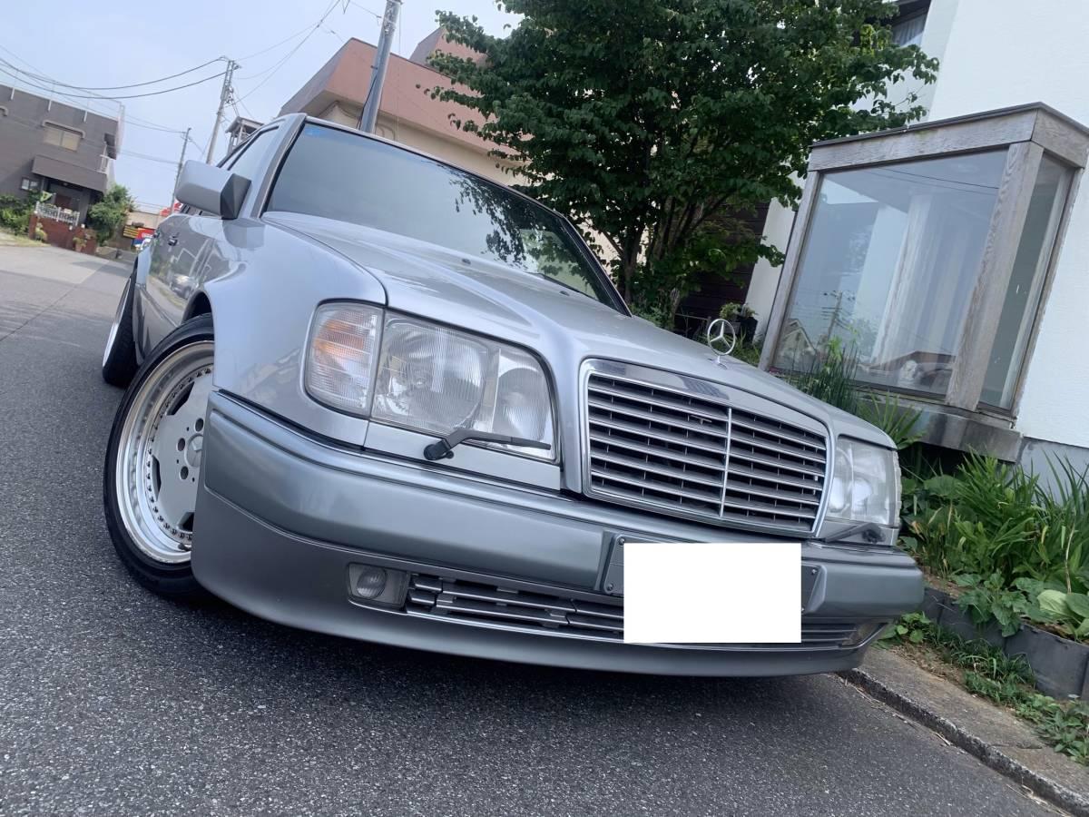 ◇美車・名車・500E・92'ポルシェライン・完全実走行78040㌔・本革・サンルーフ・エンジンミッション良好・大変大切にされておりました◇