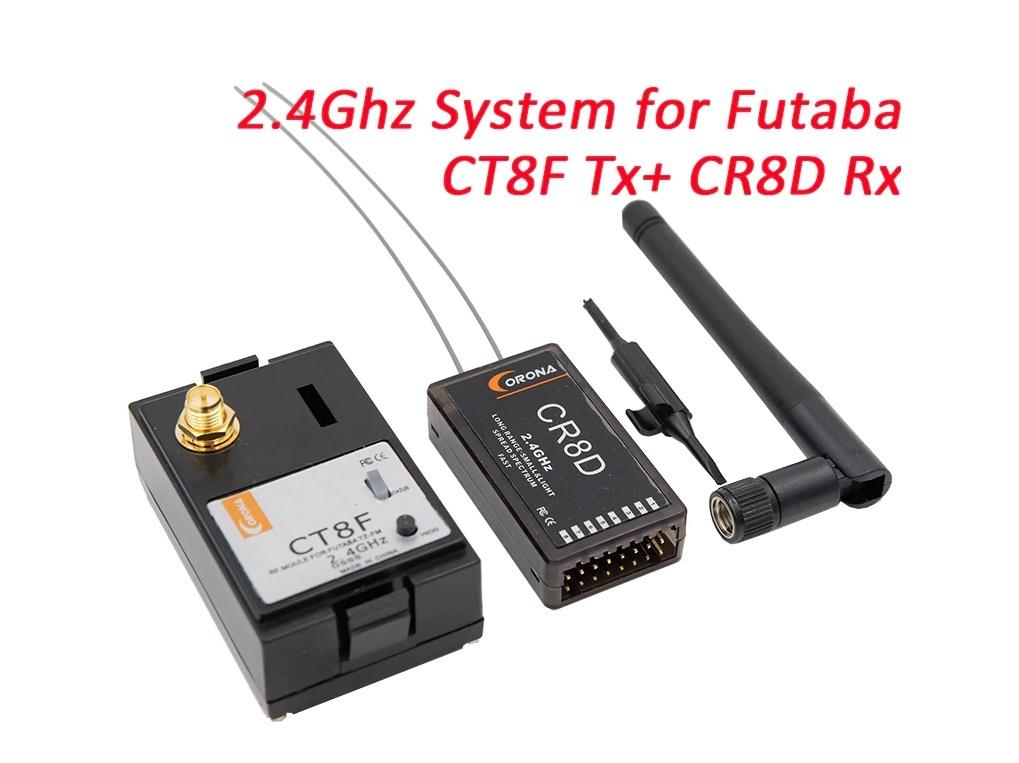 ★ Corona 2.4Ghz フタバモジュール & 8ch受信機 (V2 DSSS)_画像1
